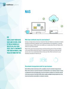 Datto NAS Brochure Cover