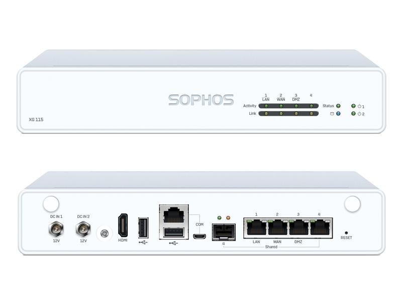 Sophos XG 115 Firewall Hardware