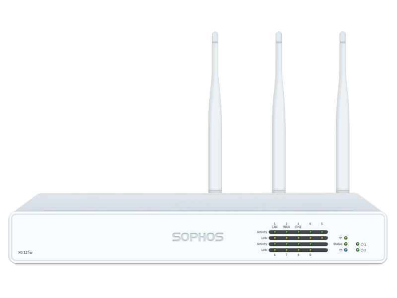 Sophos XG 125 Firewall Hardware