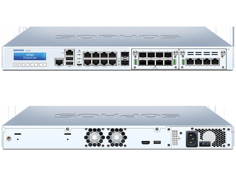 Sophos XG 430 Firewall Hardware