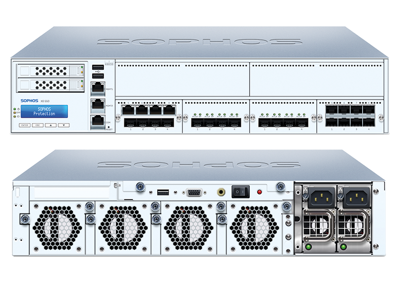 Sophos XG 550 Firewall Hardware