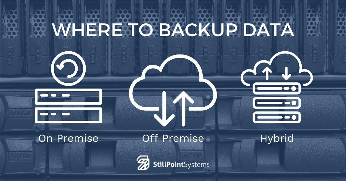 where to backup data